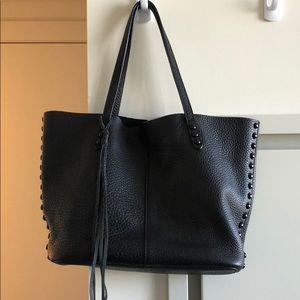 Rebecca Minkoff Black Leather Tote
